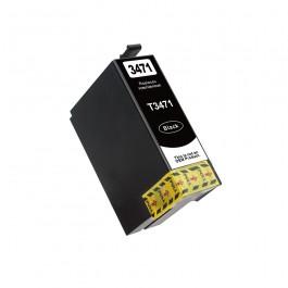 EPSON 34XL BLACK Συμβατό Μελάνι, C13T34714010 (1100 σελ.)