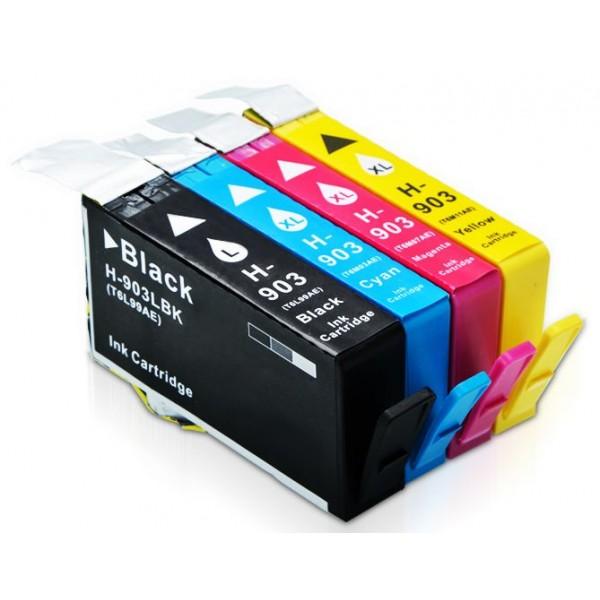 Συμβατά μελάνια HP 903XL 4-PACK για Hp Officejet Pro 6960